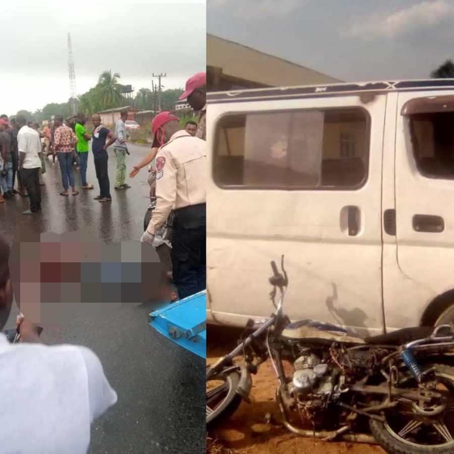 Motorcyclist diving against traffic dies in Anambra