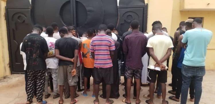 Internet fraudsters arrested in Ilorin