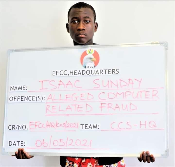 Suspected yahoo boy apprehended in Abuja