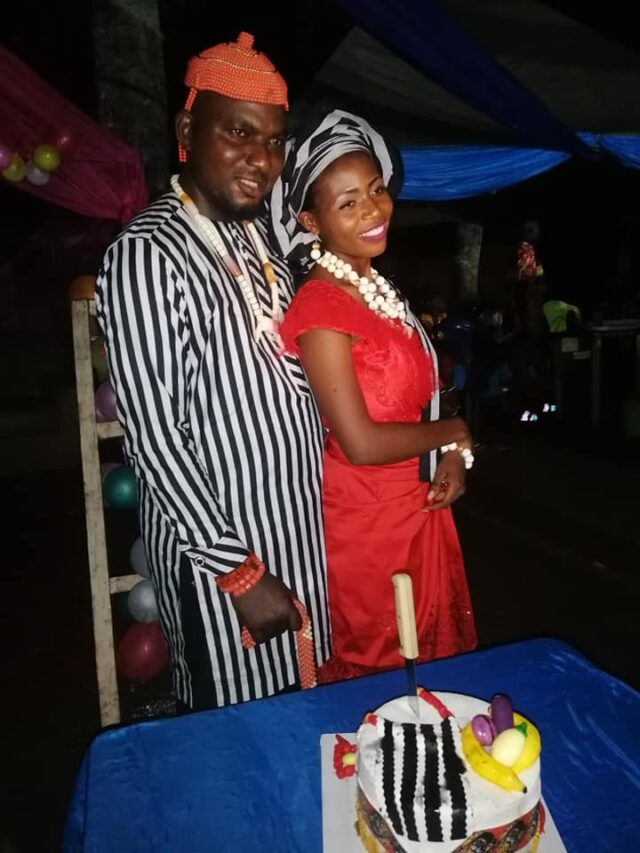 Ornguga and his new bride