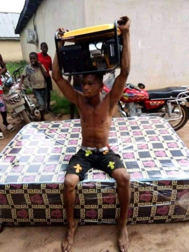 Generator thief caught in Delta