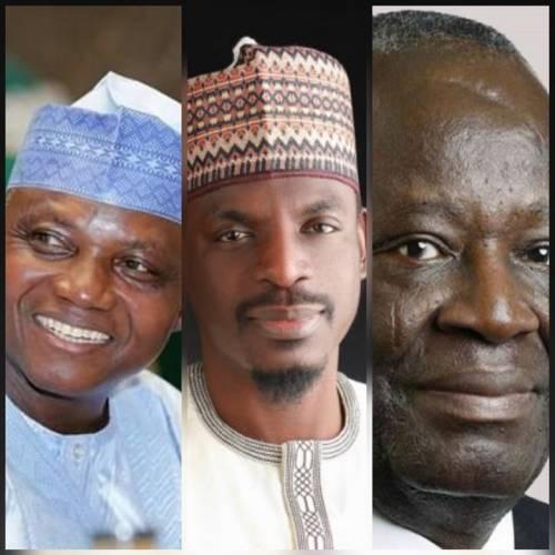 Garba Shehu, Bashir Ahmad and Gambari