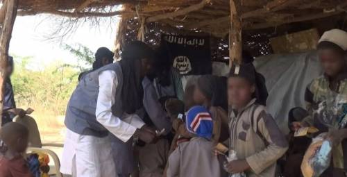 Terrorists distribute food to residents of Borno and Yobe