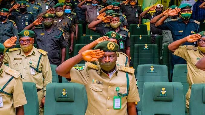 Nigerian Correctional Service officers