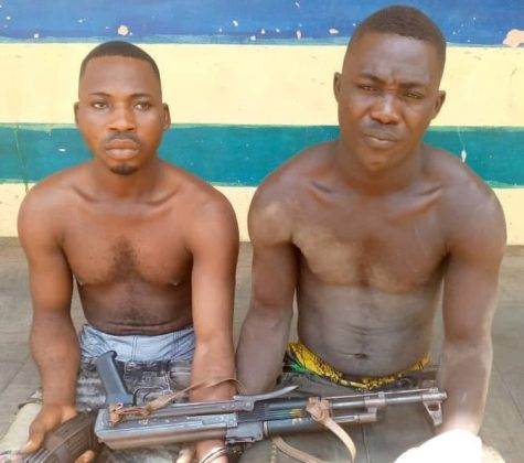Two robbers arrested in Imo state