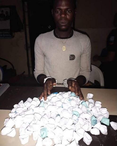 Police Arrest Suspected Drug Dealer With 237 Wraps Of Marijuana, Rescue Kidnap Victim In Delta