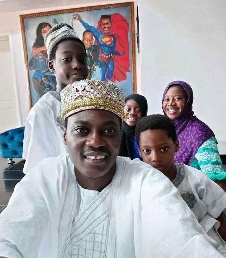 Sound Sultan and his family