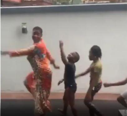 Mercy Johnson Okojie and her children