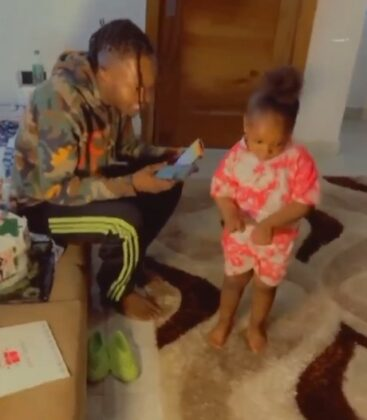 Naira Marley and the 4-year-old girl