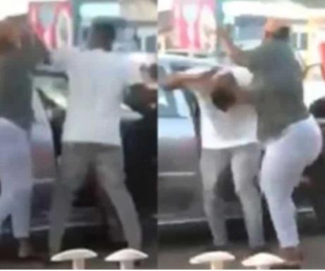 Woman fights boyfriend's sidechic