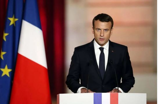 President Macron of France