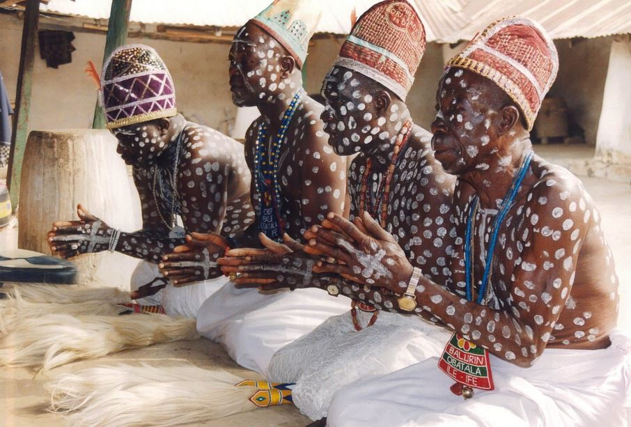 Traditional worshippers