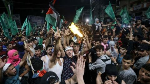 Jubilation as Israel and Palestine agree on ceasefire