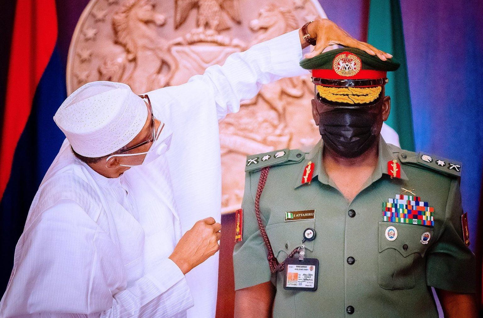 Buhari and General Ibrahim Attahiru