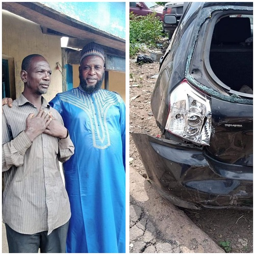 Islamic clerice, Taofeeq forgives driver who wrecked his car