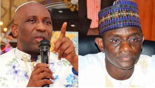 Primate Ayodele and Governor Buni