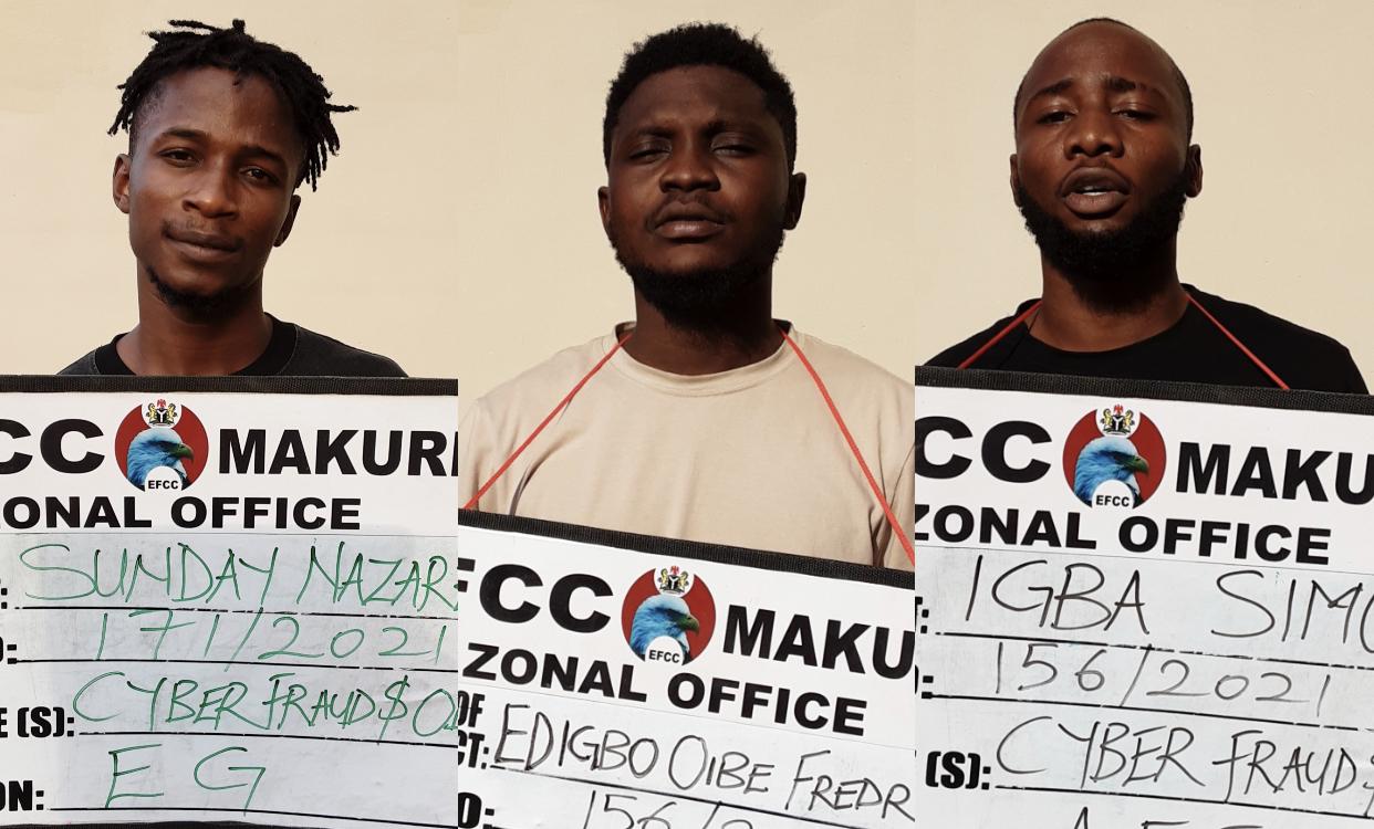 Yahoo boys arrested in Makurdi