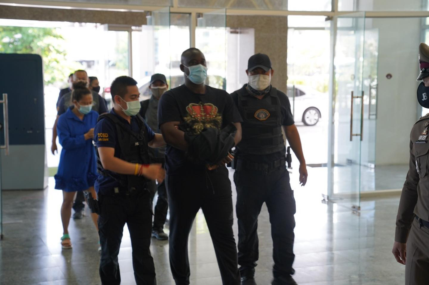 Uzochukwu and his wife arrested in Thailand