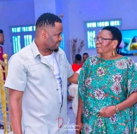 Zubby celebrates mother on her birthday