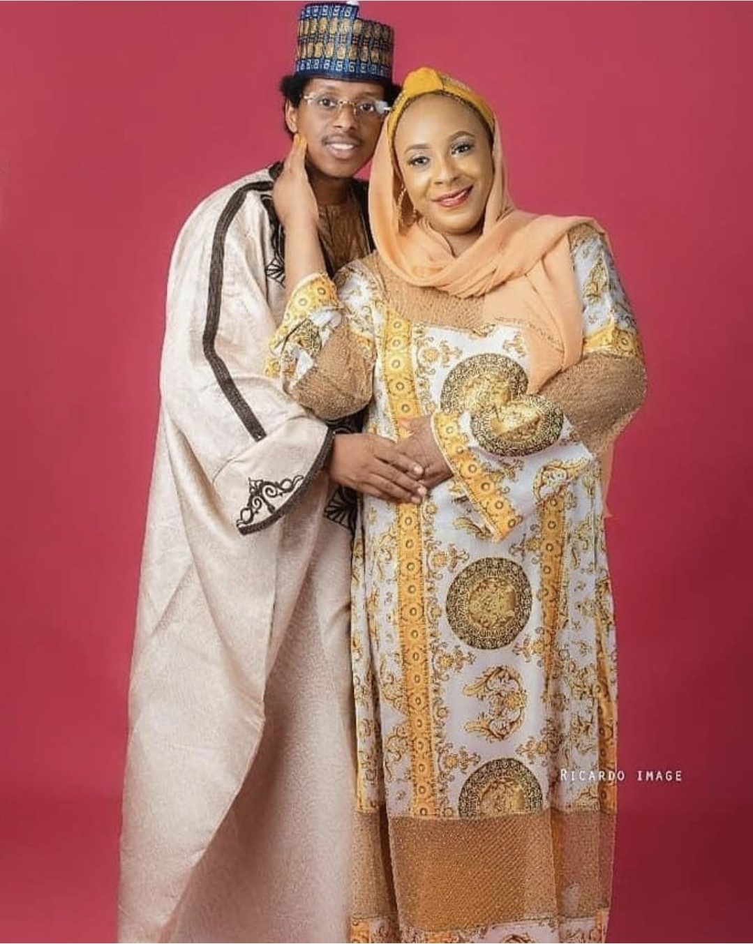 Happy couple, Babuba and Modibbo
