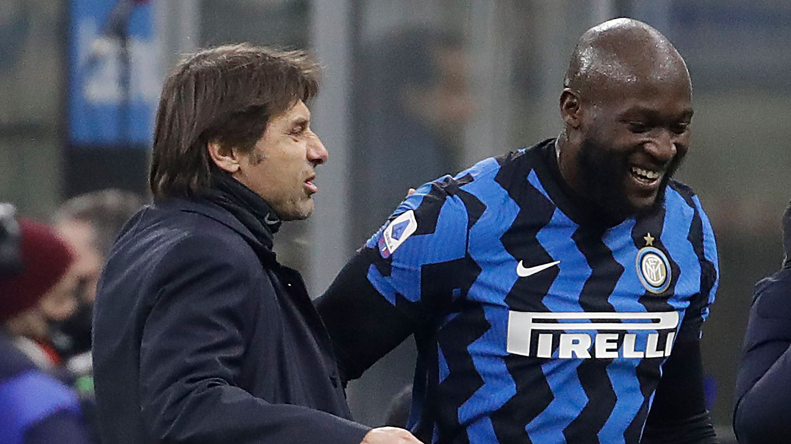 Conte and Lukaku