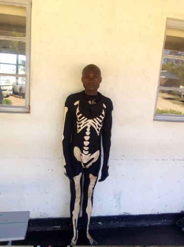 Police Arrests Suspected Burglar Who Pretends To Be A Ghost