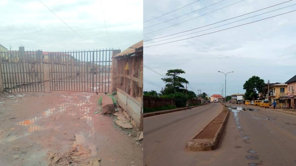Enugu grounded by IPOB's sit-at-home order