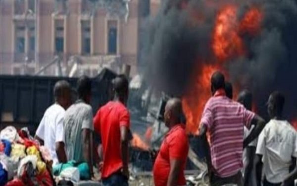 An explosion has rocked a market in Port Harcourt