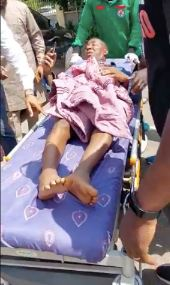 Sowore after he was shot