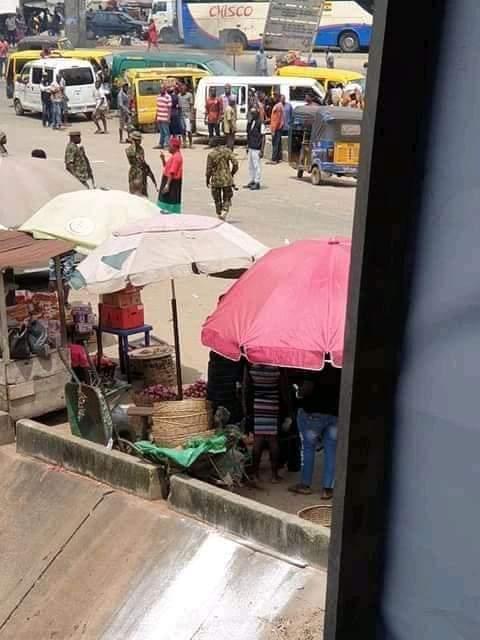 Chinwetalu Agu arrested by soldiers