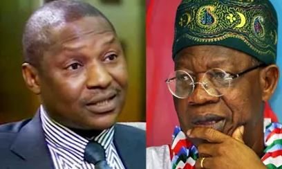 Malami and Lai Mohammed