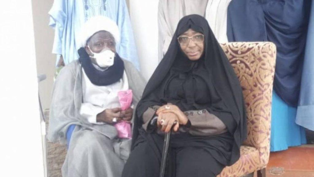 El-zakzaky and wife