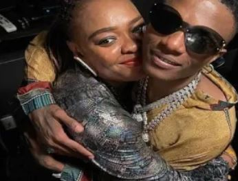 Wizkid and sister