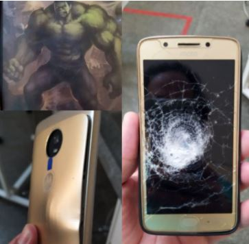 The phone that saved the man's life