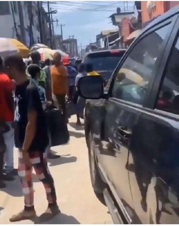 Ubah booed in Lagos