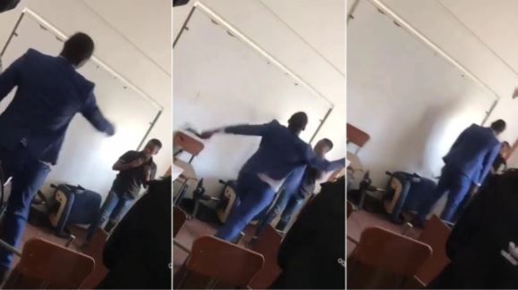 Private School Teacher Arrested After A Viral Video Showed Him Assaulting His Student (Video)