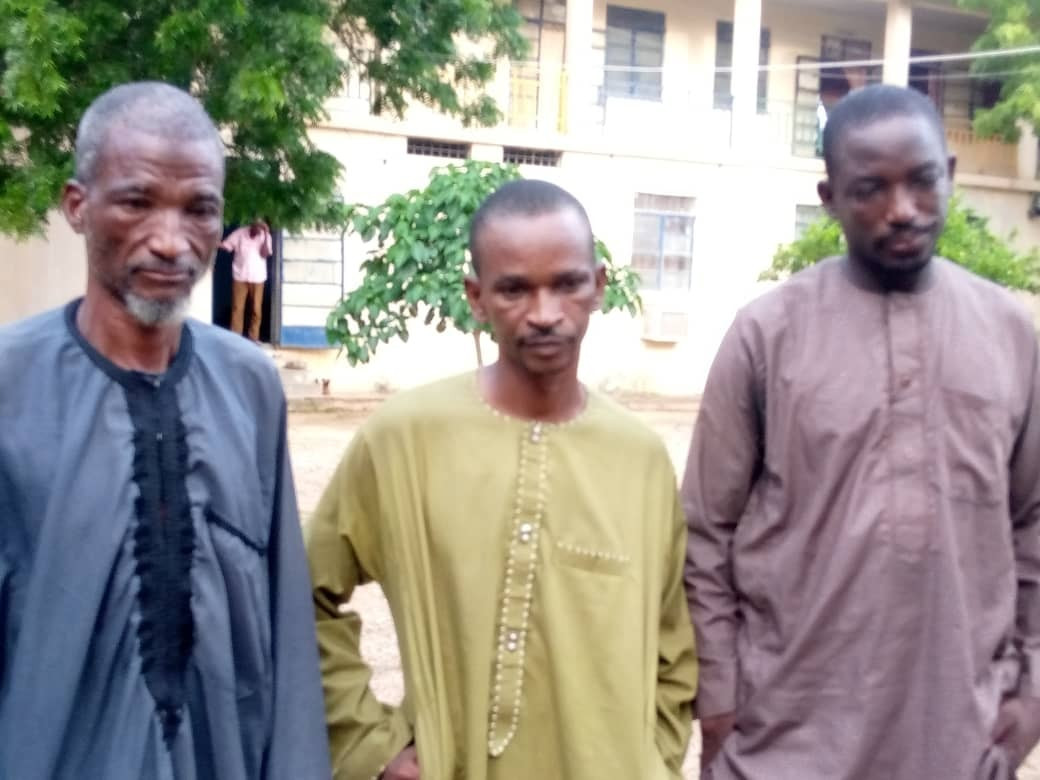The repentant bandits arrested for armed robbery