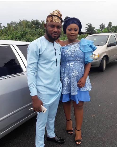 Tega and her husband