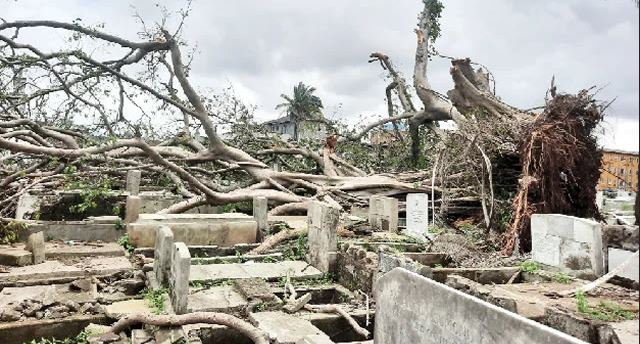 Lagos cemetery