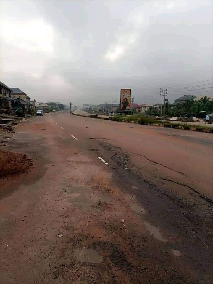 Empty streets welcome Buhari to Imo state
