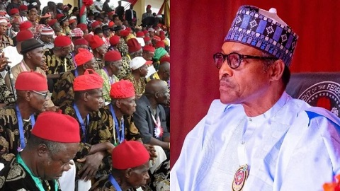 Ohanaeze not in support of Buhari's visit to Imo