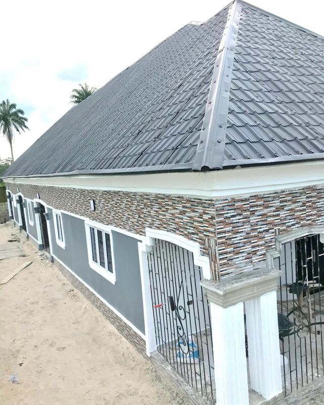 The house built by the comedian