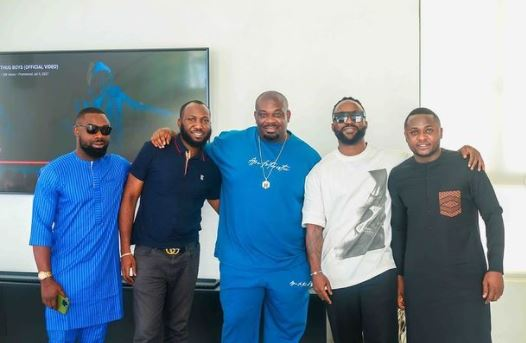 Don Jazzy praises Ubi Franklin and Iyanya