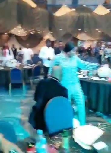 Video Of Dino Melaye Rocking Empress Njamah