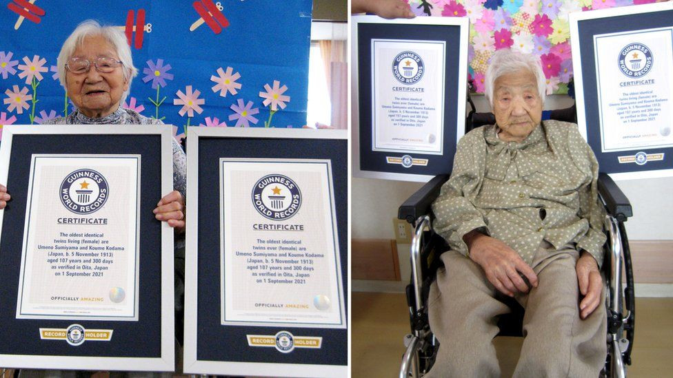 The oldest living twins