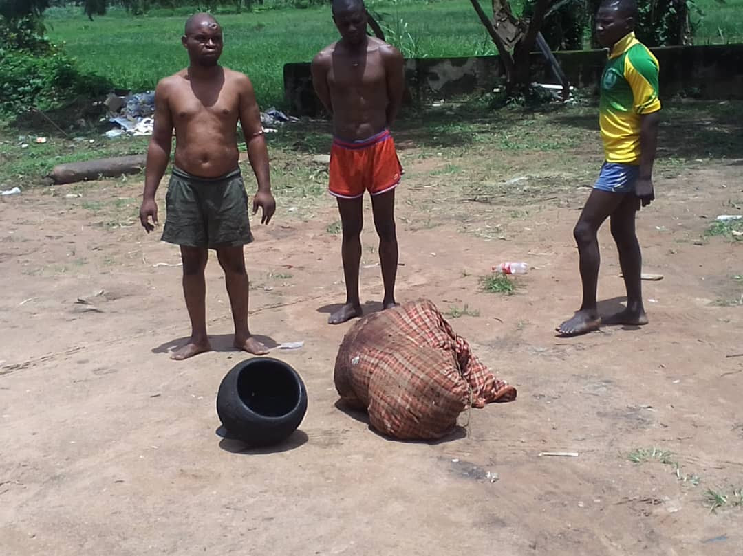 The suspected ritualists