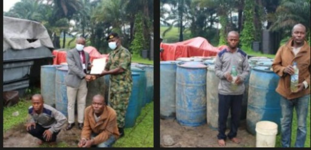 Oil smugglers
