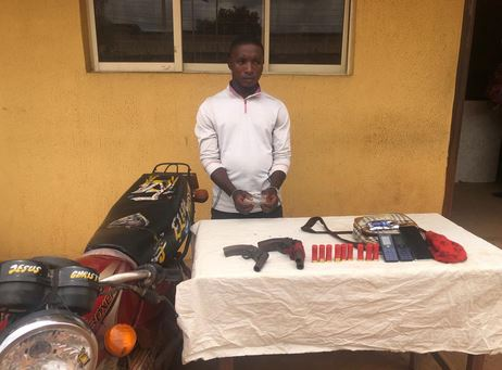 Police Arrest Suspected Armed Robber On His Way Back From An Operation #Arewapublisize