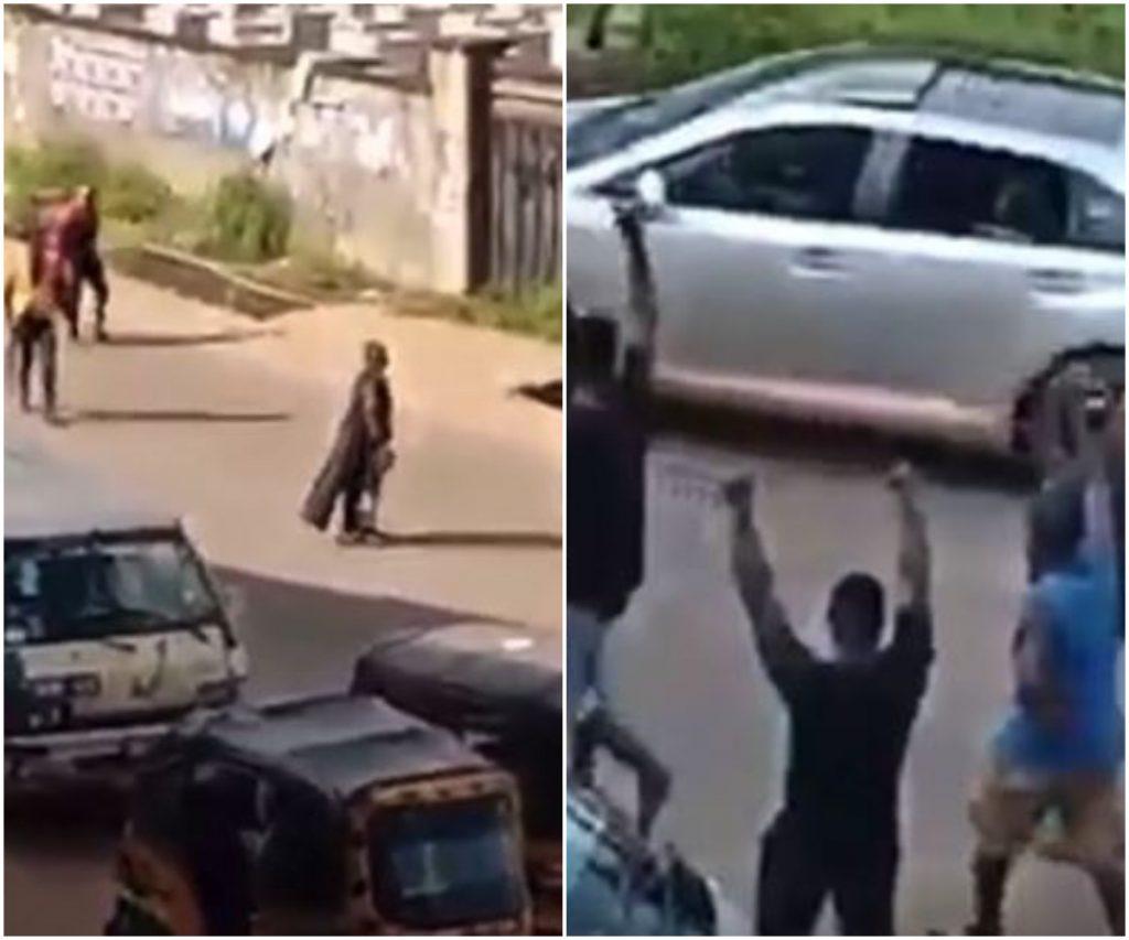 The unknown gunmen hailed in Anambra