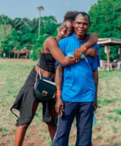 Alex Unusual and his father